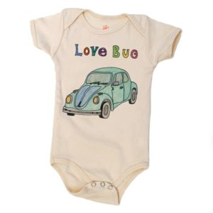 Body coton bio Love Bug