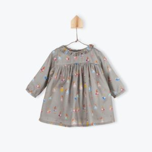 Robe col pierrot Alice